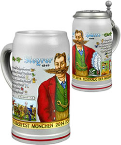 Wirtekrug 2014 - Bavarian beer steins and mugs
